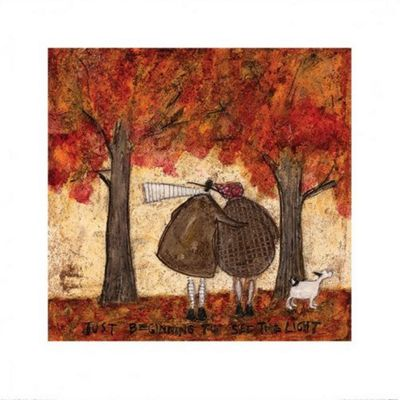 Sam Toft Just Beginning To See The Light Print