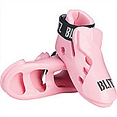 Blitz - Double Padded Dipped Foam Foot - Pink