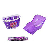 Ammaco Girls Bike Purple Dolly Seat Accessories Pack