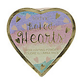 Technic Baked Hearts Highlighter Highlighting Illuminating Rainbow Powder 9g