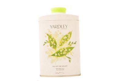 Yardley Lily Of The Valley Perfumed Talc 200g For Her Body Care Women