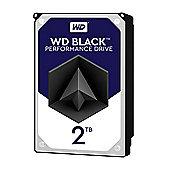 WD 2TB Black 64 MB 3.5IN SATA 6 Gb/s Hard Drive