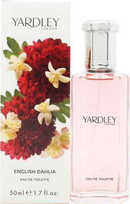 Yardley English Dahlia Eau de Toilette (EDT) 50ml Spray For Women