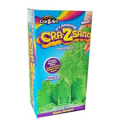Cra-Z-Art Cra-Z-Sand 1.5Ib Neon Green! Box Set