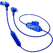 JBL E25, In-Ear Bluetooth Headphones Blue