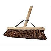 Faithfull Broom Stiff Bassine 45cm (18in) + Handle & Stay