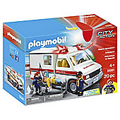 Playmobil City Action Rescue Ambulance 5681