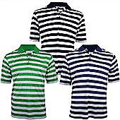 Woodworm Pro Stripe Mens Golf Polo Shirts - 3 Pack Medium