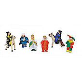 Melissa Doug Castle Wooden Figure set