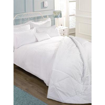 Cascade Home Amelia White Bedspread - Single