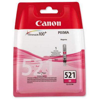 Canon CLI-521M printer ink cartridge - Magenta (2935B001AA)