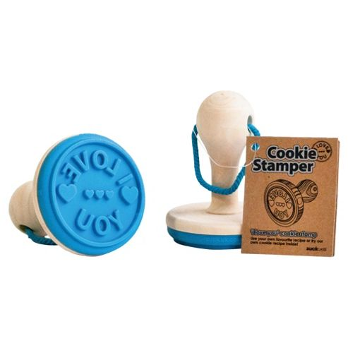 Suck Uk Cookie Stamp I Love You