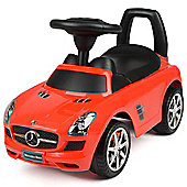 Children's Mercedes-Benz AMG SLS Ride On Car Toy - Red