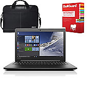 "Lenovo Ideapad 310 - 80ST005FUK - 15.6"" Laptop AMD A10-9600P Quad Core 12GB 1TB with Internet Security & Laptop Case"