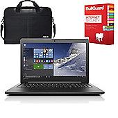 "Lenovo Ideapad 310 - 80ST005FUK - 15.6"" Laptop AMD A10-9600P Quad Core 12GB 1TB with Internet Security & Laptop Case"