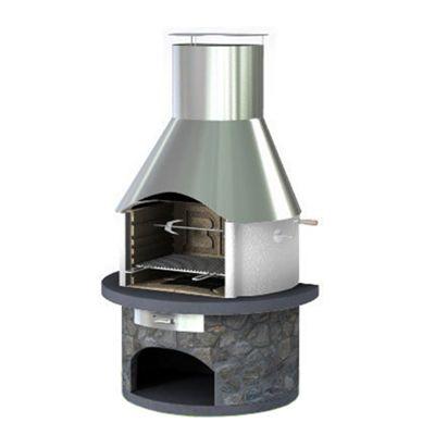 Rondo Steel - Masonry BBQ Grill
