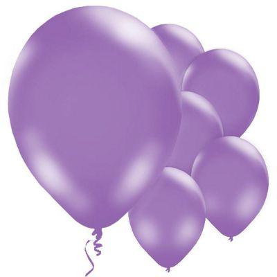 Purple 11 inch Latex Balloons - 10 Pack
