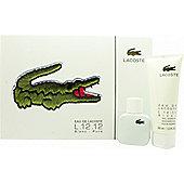 Lacoste Eau de Lacoste L.12.12 Blanc Gift Set 30ml EDT + 100ml Shower Gel For Men