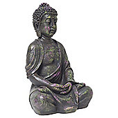 30cm Multi-coloured Splat Polyresin Buddha Garden Ornament