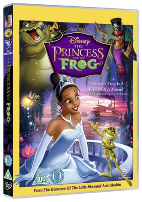Disney: The Princess And The Frog (DVD)