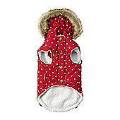 Polka Dot Gilet Red - Small