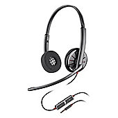 Plantronics Blackwire C225 Wired Stereo Headset - Over-the-head - Supra-aural