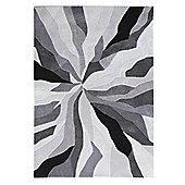 Infinite Splinter Grey Rug - 160x220cm