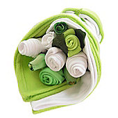 Traditional Lime Baby Bouquet Bundle