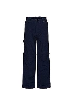 Regatta Kids Sorcer Zip Off Trousers - Blue
