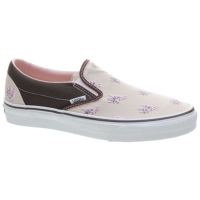 Vans Classic Slip On (Miira Angel) Smoke Grey/Coffee Shoe 58616