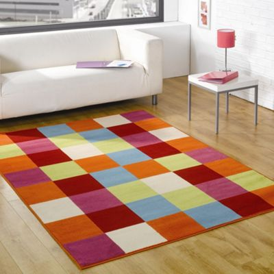Rugs with Flair Retro Funky Mania Multi Novelty Rug - 160cm x 225cm