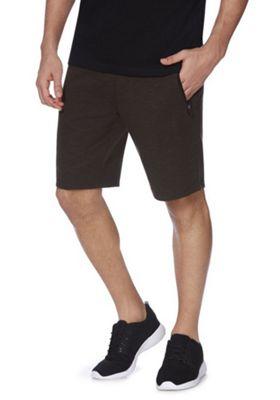 F&F Shockcord Sweat Shorts Khaki S