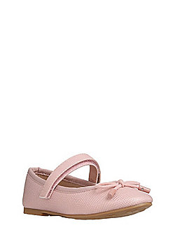 F&F Metallic Mary Jane Pumps - Pink