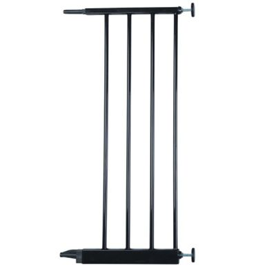 Safetots Extra Wide Hallway Gate Black 24.8cm Extension