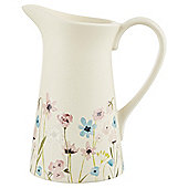Tesco Decorative Floral Belle Ceramic Jug