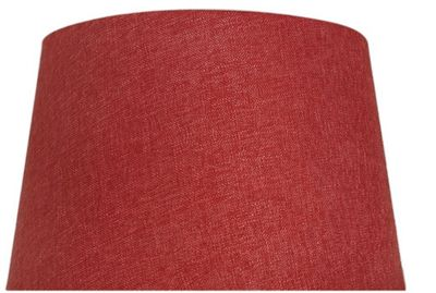 Terracotta 17 Inch Linen Empire Shade (Dual Fitting)