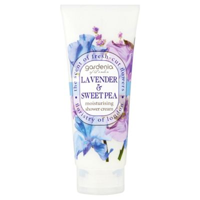 Gardenia of London Lavender & Sweet Pea Moisturising Shower Cream
