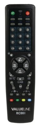 ValuConnect Replacement TV Remote Control - Universal Pre-Programmed