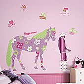 Childrens Giant Wall Sticker - Horse Crazy