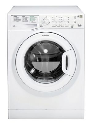 Hotpoint WMSL 521P Washing Machine, 5Kg Load, 1200 RPM Spin, A+ Energy Rating, White