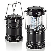 Auraglow Super Bright 30 LED Battery Operated Collapsible Outdoor Garden Light LED Camping Lantern