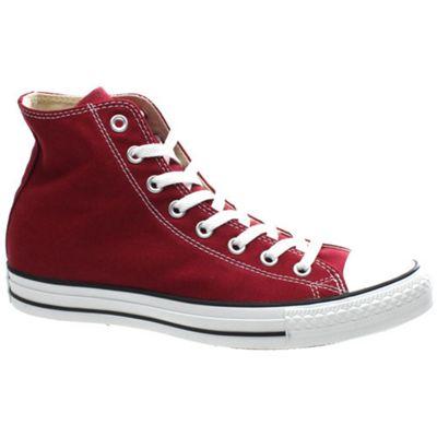 Converse All Star Hi Maroon Shoe M9613