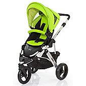 ABC Design Cobra Pushchair - Silver & Lime