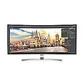 "LG38UC99 Curved (38"") LED LCD White Gaming Monitor"
