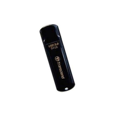 Transcend JetFlash 700 (64GB) USB 3.0 Flash Drive (Black)