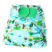 TotsBots Stretchy Wrap Hey Diddle Nappy Cover (Size 1)