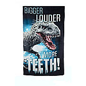 Jurassic World Printed Beach Towel