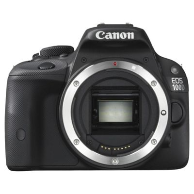 Canon EOS 100D SLR Camera Black Body Only 18MP