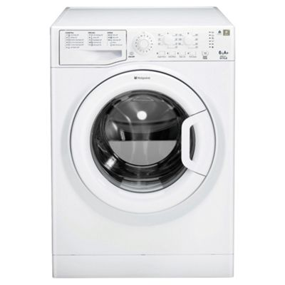 Hotpoint WMSYL621P Washing Machine , 6Kg Load, 1200 RPM Spin, White