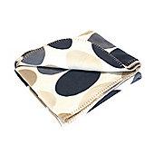 Soft Fleece Picnic Blanket Spot Design 127 x 153cm Folds flat - Yellowstone